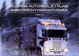 Kuorma-autonkuljettajan ammattipätevyysharjoituskirjan vastaukset