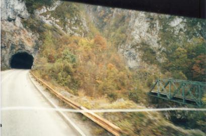 1980-luvulla ei tunneleiden merkintä Jugoslaviassa ollut aina kovin kummoista
